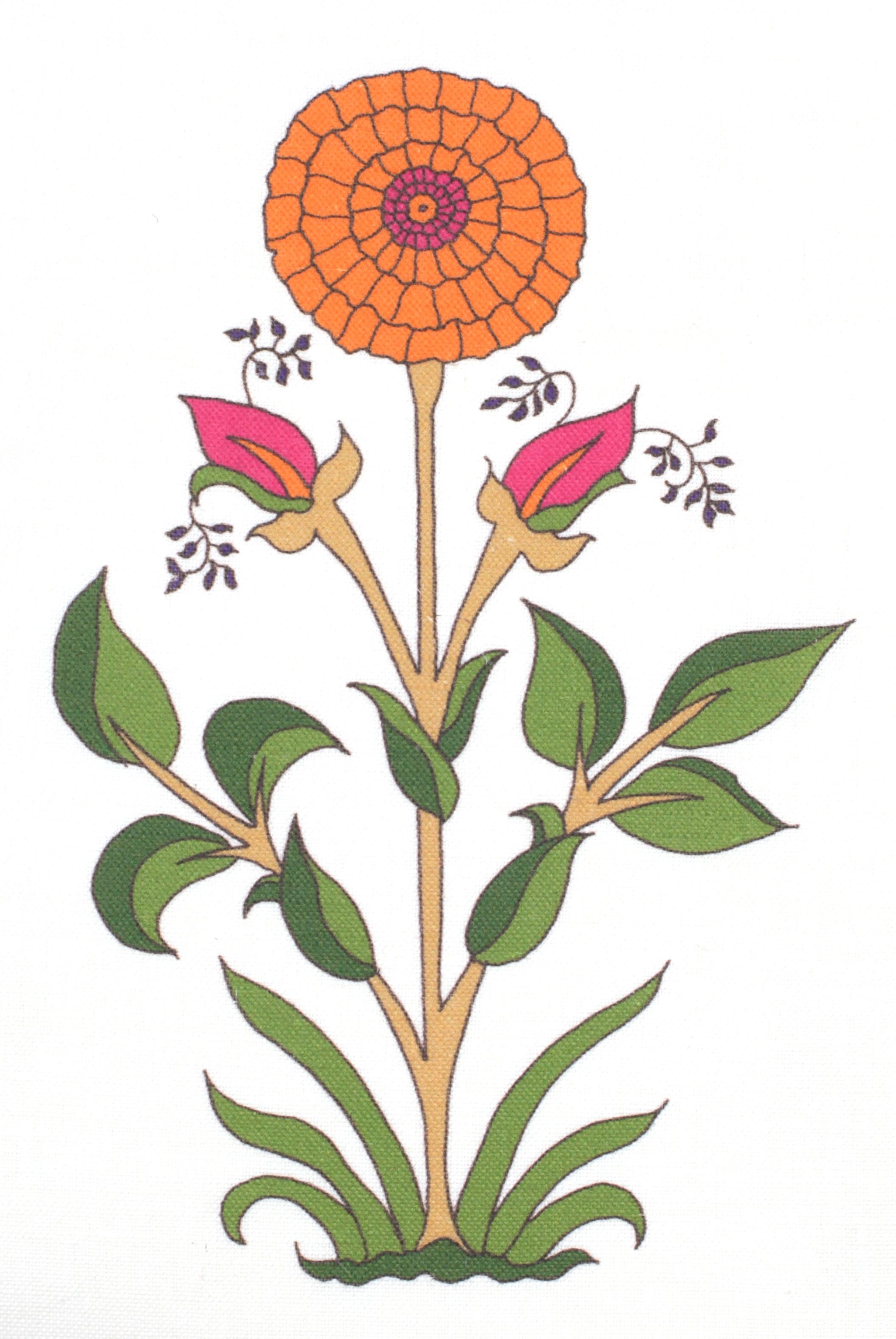 Mandarin/Fuchsia