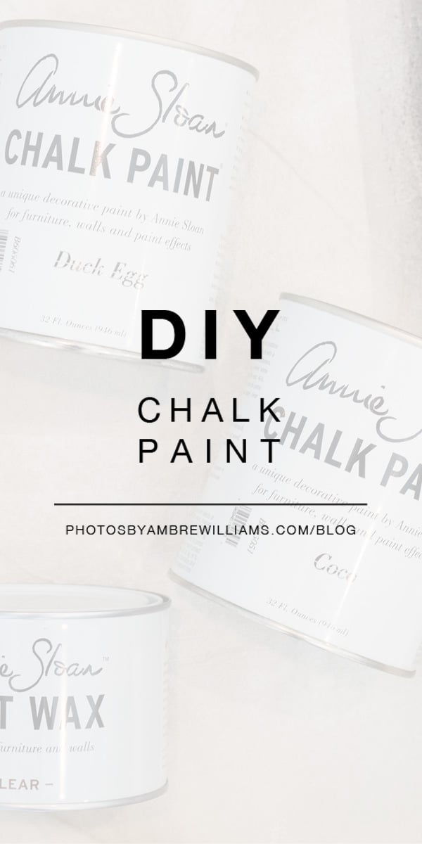 why we love Annie Sloan chalk paint