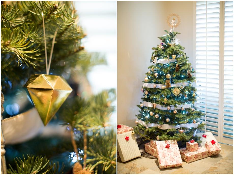Orange County wedding photographer Christmas decorations