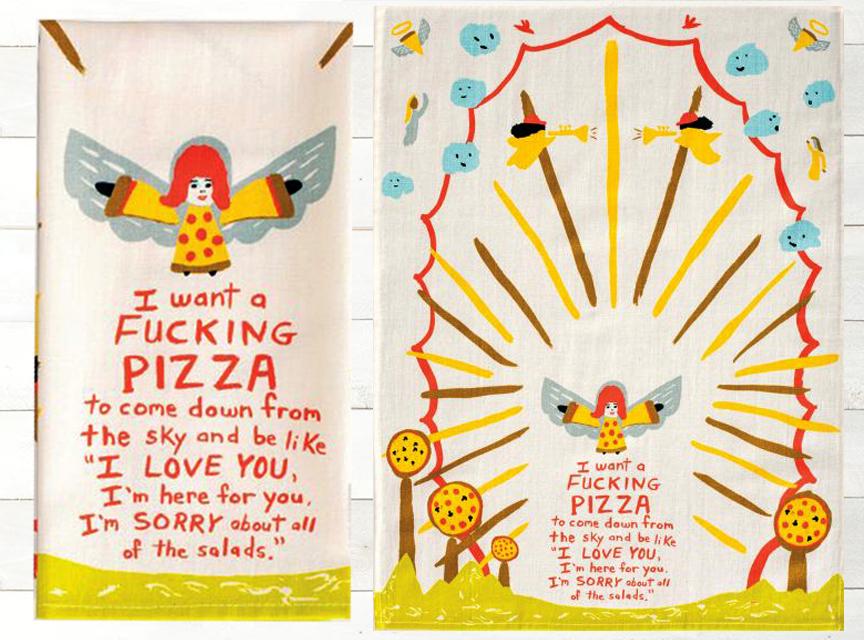 Pizza Dish Towe l