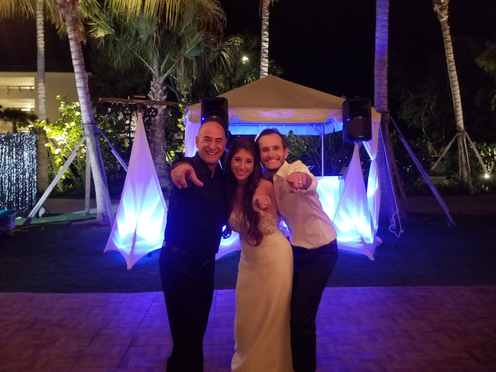 What an awesome wedding at the all new Bakers Cay Resort in Key Largo. Florida Keys Wedding DJ & MC.