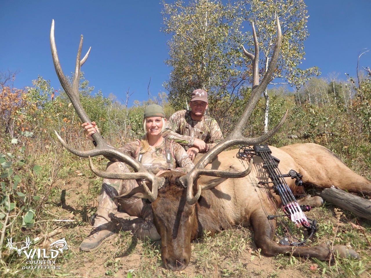 utah archery bull elk hunt tiffany lakosky the crush.jpg