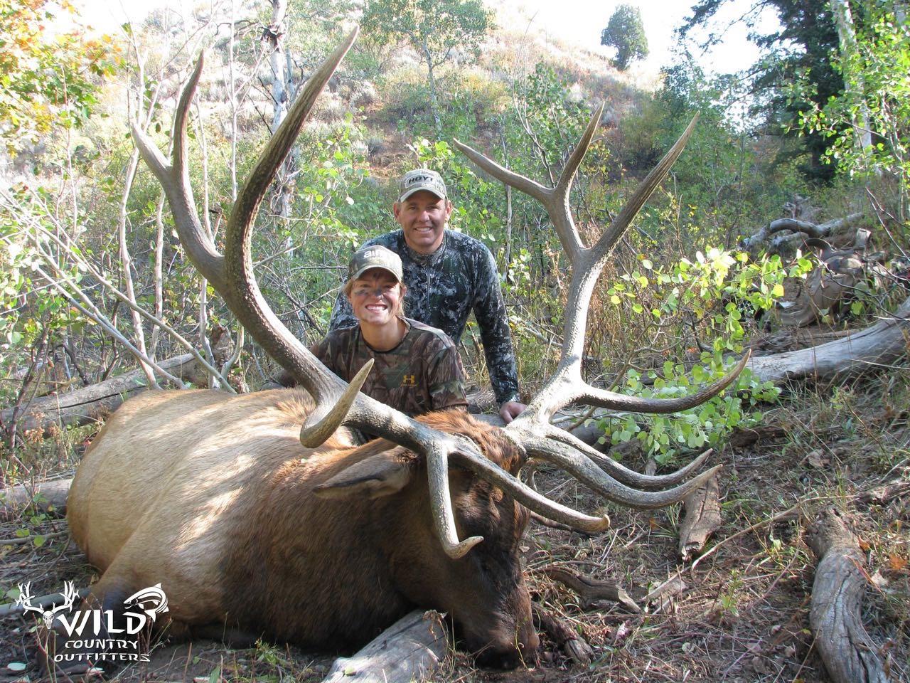 utah bull elk rifle hunt women hunter.jpg