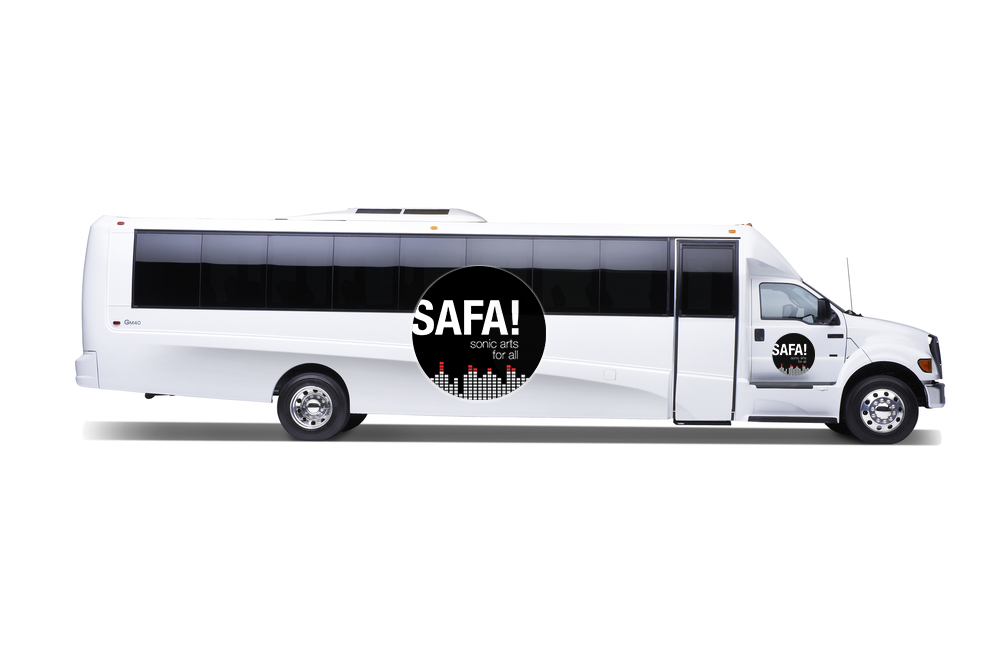 Phase Two of SAFA! will take place on a custom-tuned, studio stocked shuttle bus.