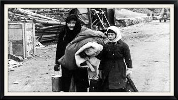 Renathe under evakueringen av Porsanger i 1944.