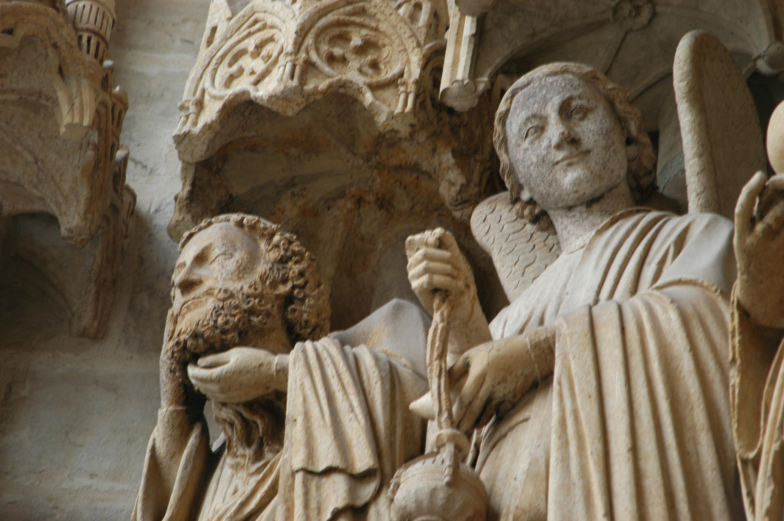 Cathédrale d'Amiens - détail façade