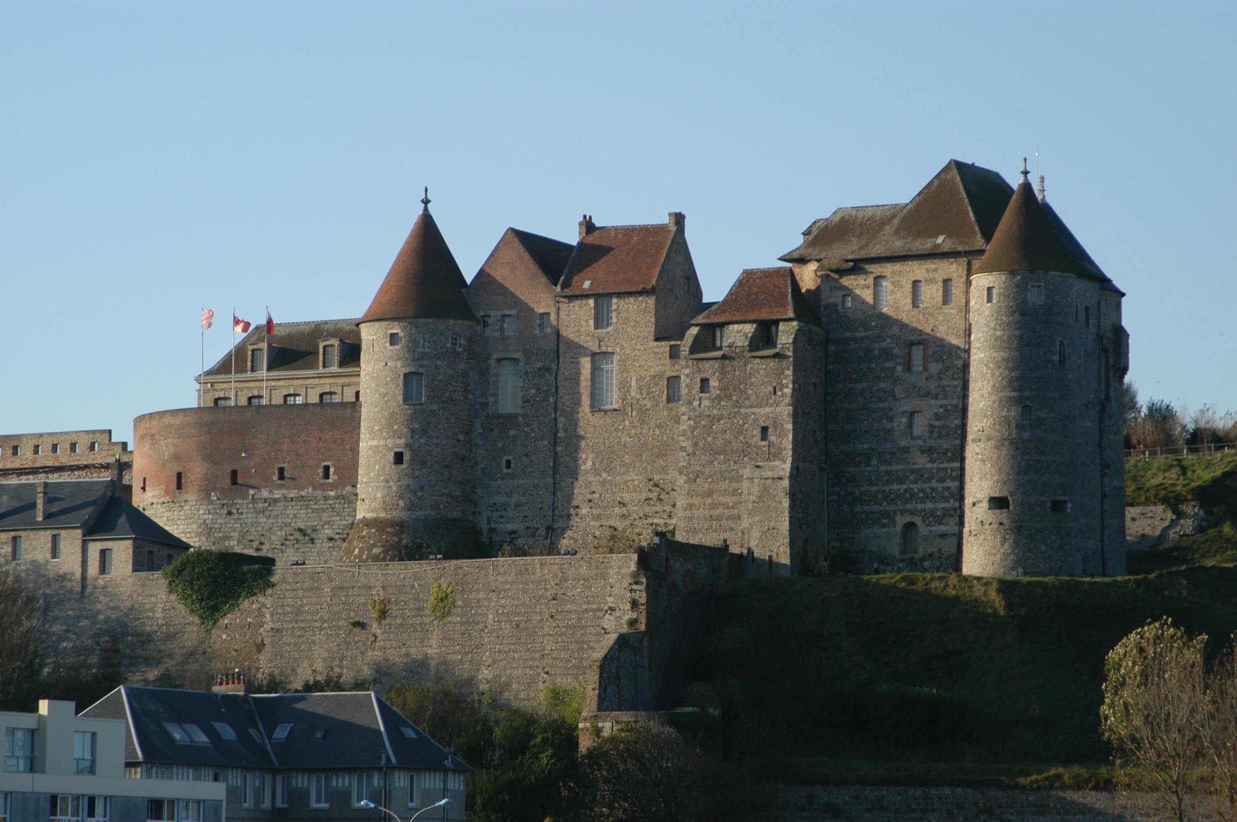Le vieux château de  DIEPPE