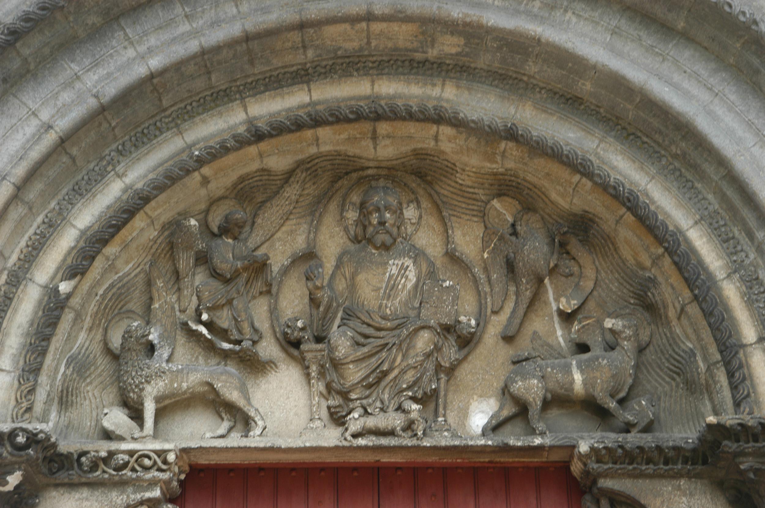 le Christ en Majesté de l'église Saint-Florent