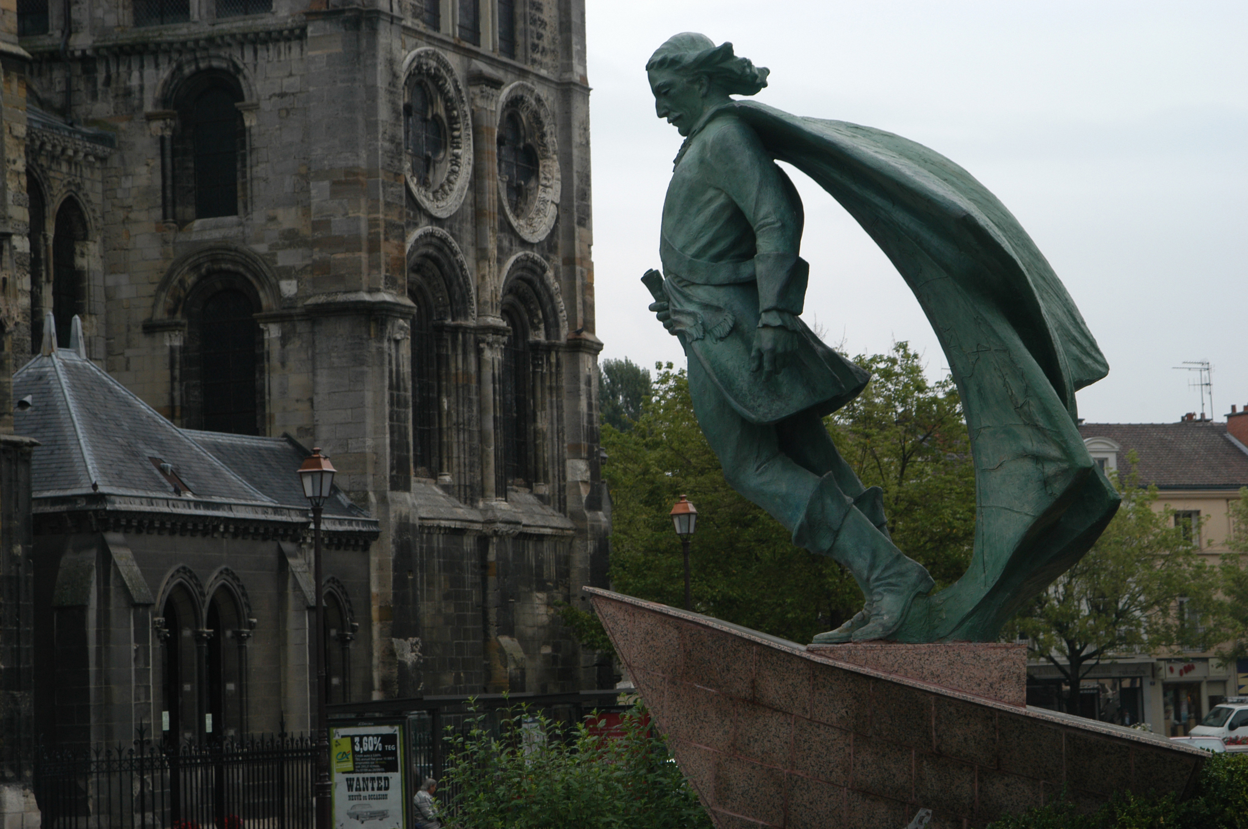 Statue de Jean Talon