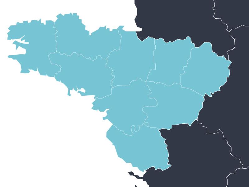 Carte Bretagne Pays De La Loire.Bretagne Pays De La Loire Un Tour De France Canadien
