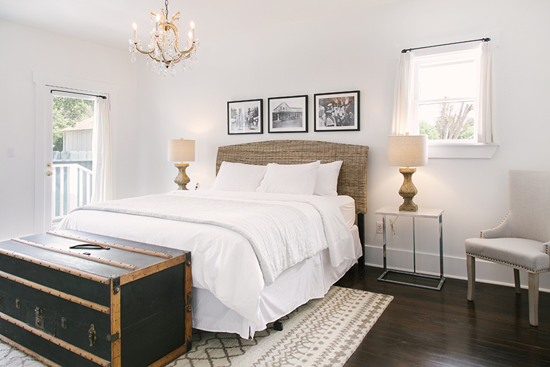 $1750 / 2 nights shared west cottageKing suite - 2 adults + childrenKing Bedroom suite with ensuite bath with shower and clawfoot tub. Use of lux shared living spaces and full kitchen. Complimentary crib or children's floor mat included upon request.