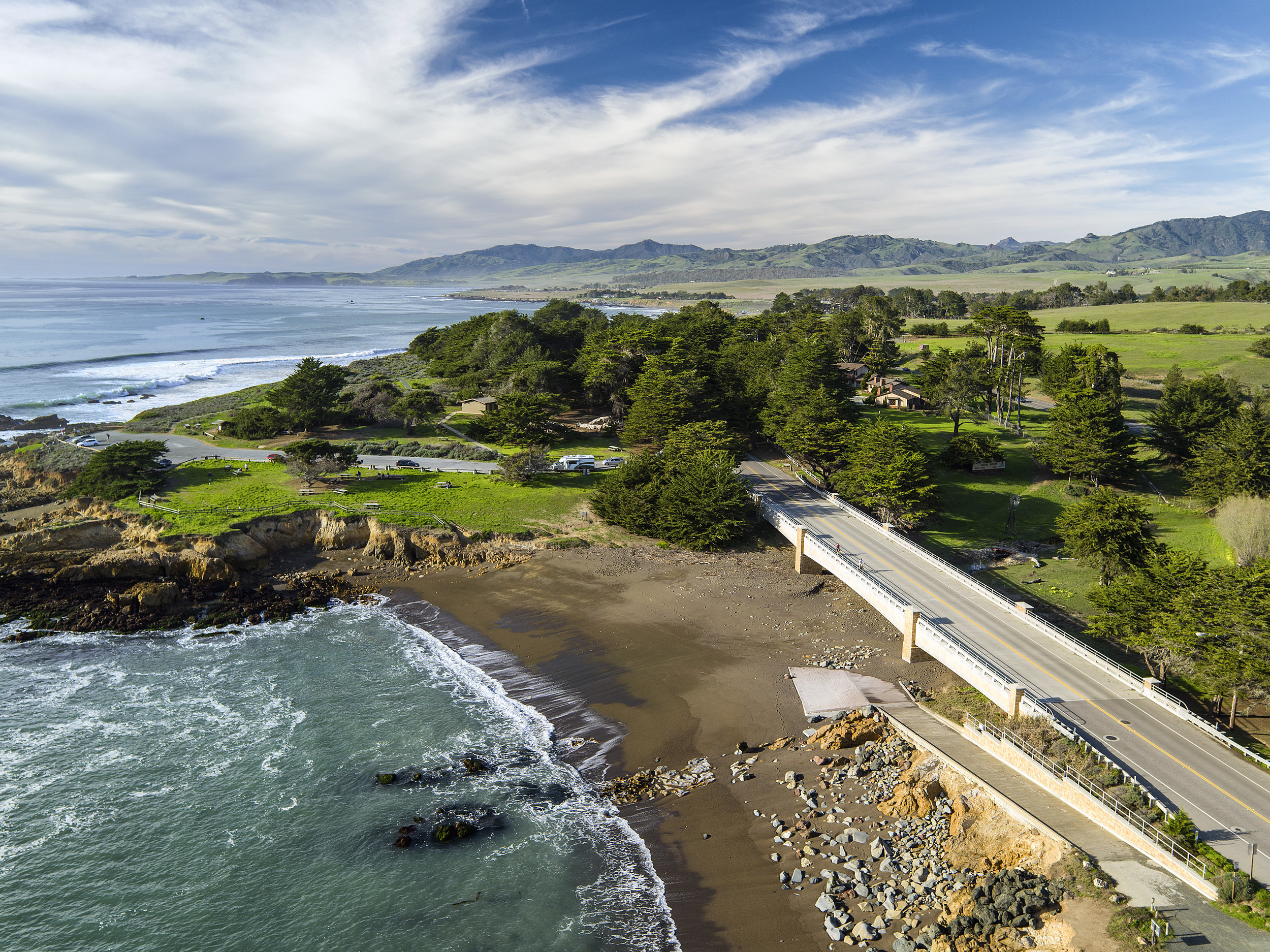 your summer road trip, PLANNED - The Oceanpoint RanchMoonstone BeachCambria, CA3.5 hours from LA/SF via the iconic and beautiful Highway 1