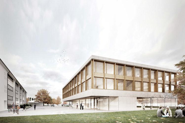 Escola Secundária em Sissach | com André Campos e Brandenberger Kloter Arch.