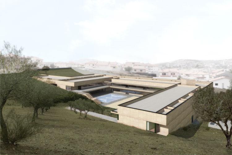 Centro Escolar de Mirandela | com Tiago Coelho arqº