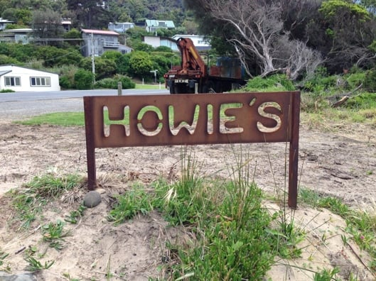Howies Sign