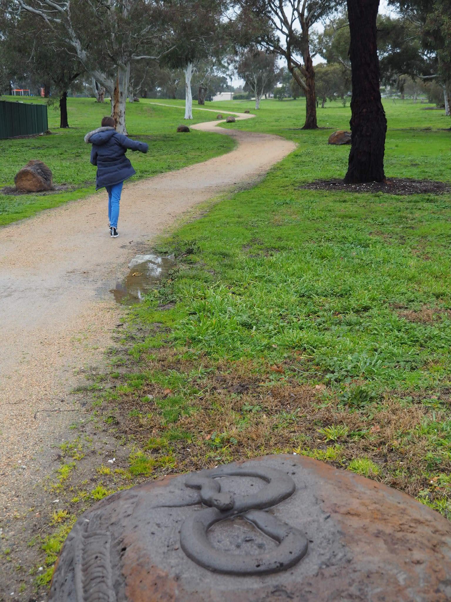 Joe Pratt; Research Artist Forest Kegeel, Penny Weight Park