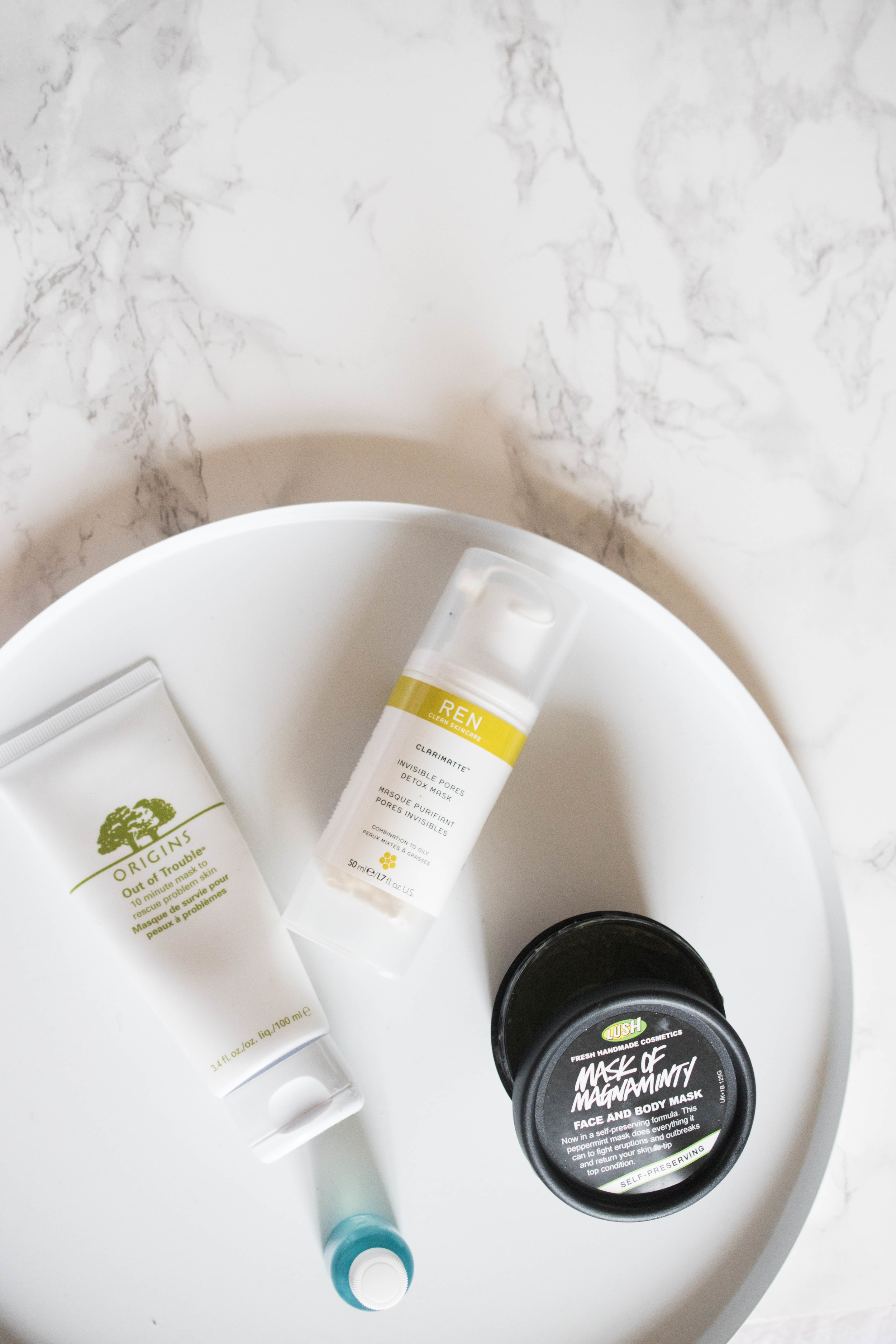 in trouble skin care breakout clearing skincare