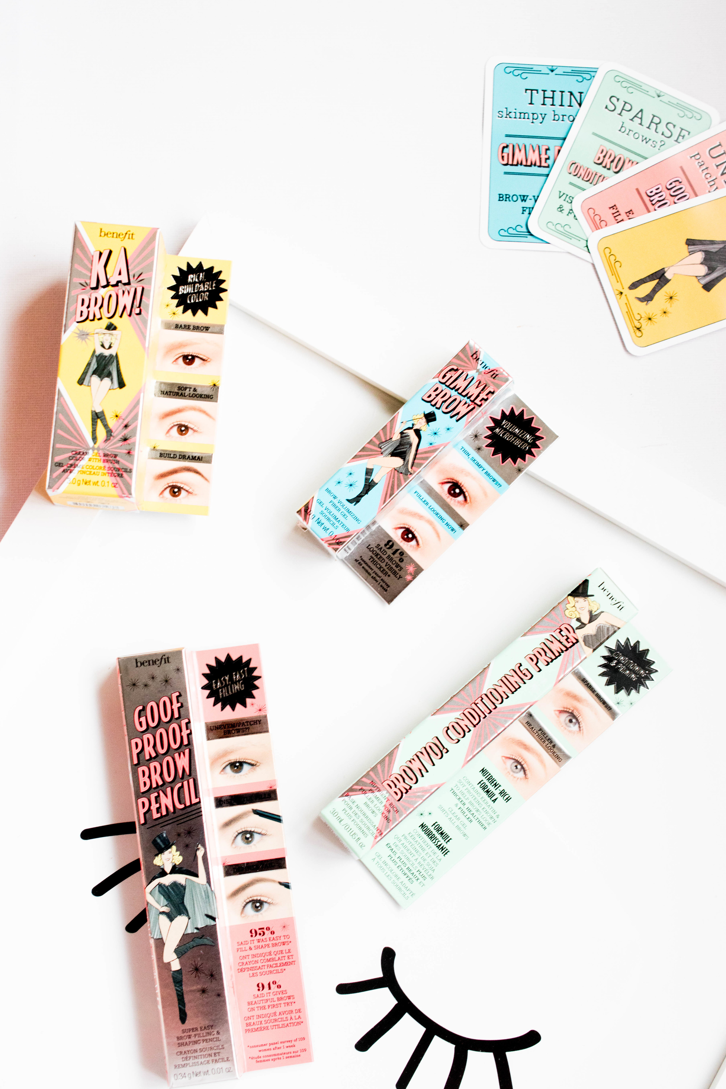 benefit brows beauty blog benefit brow launch