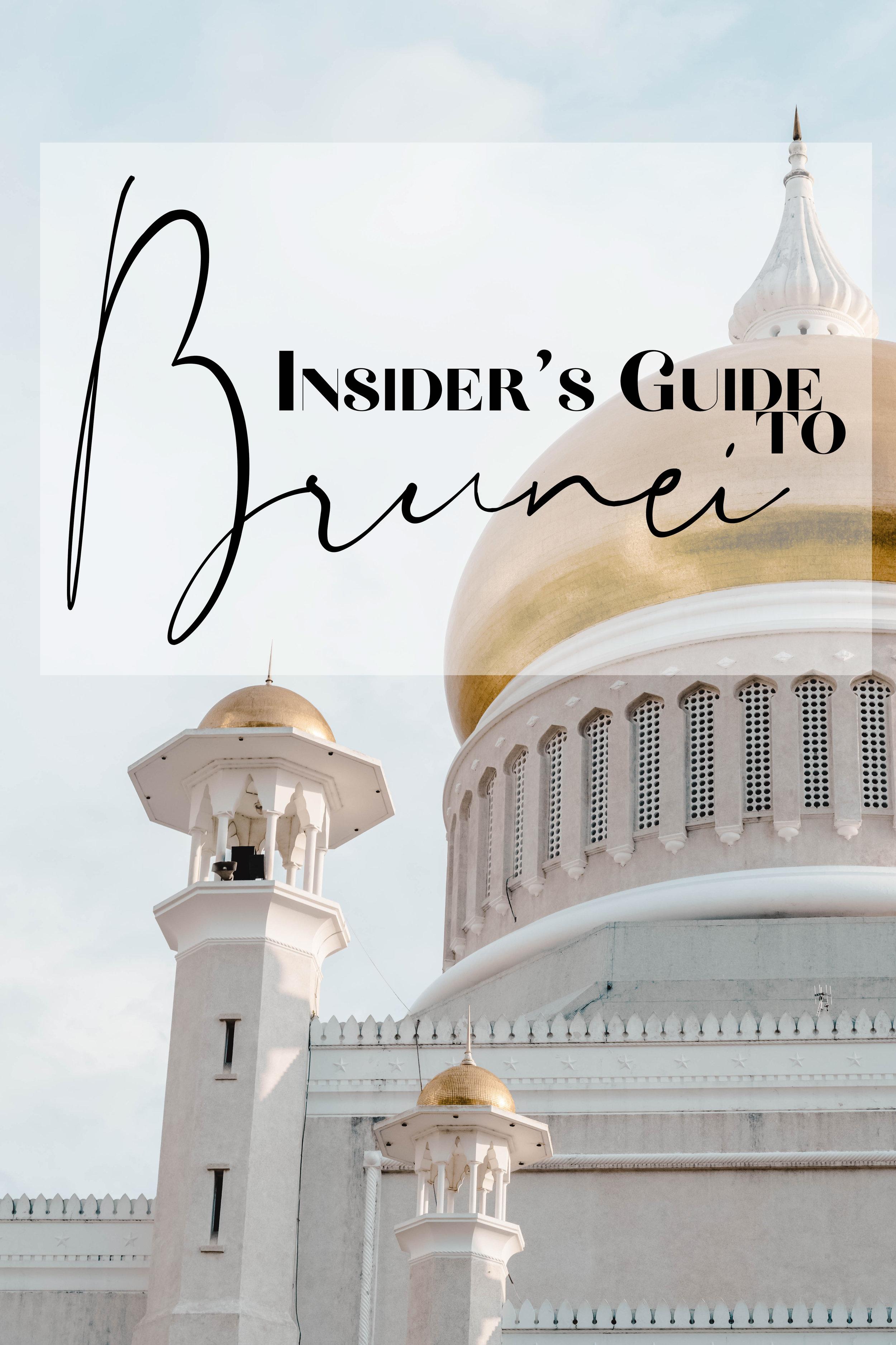 insider's guide to brunei