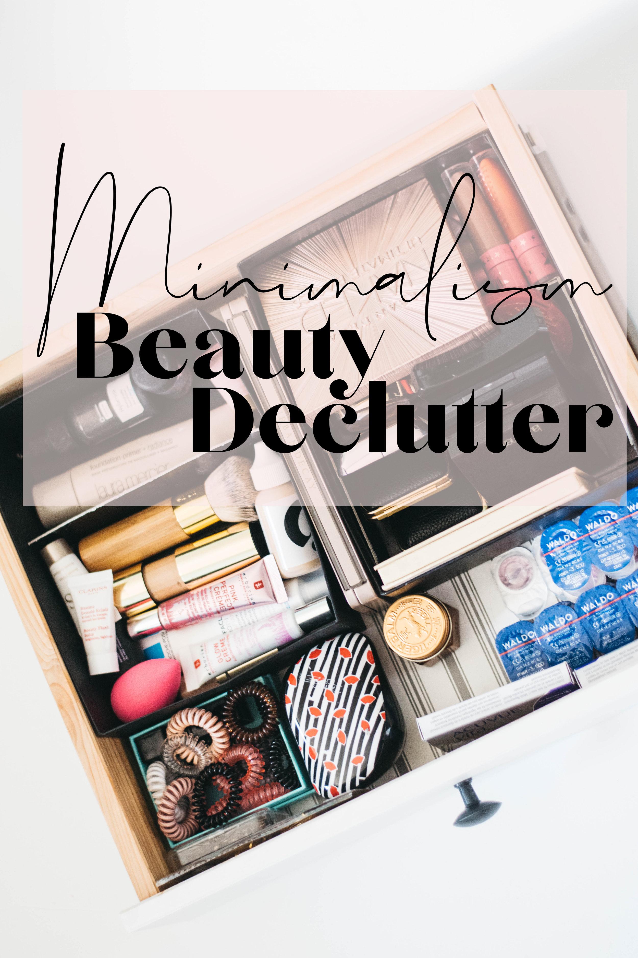 minimalism makeup collection