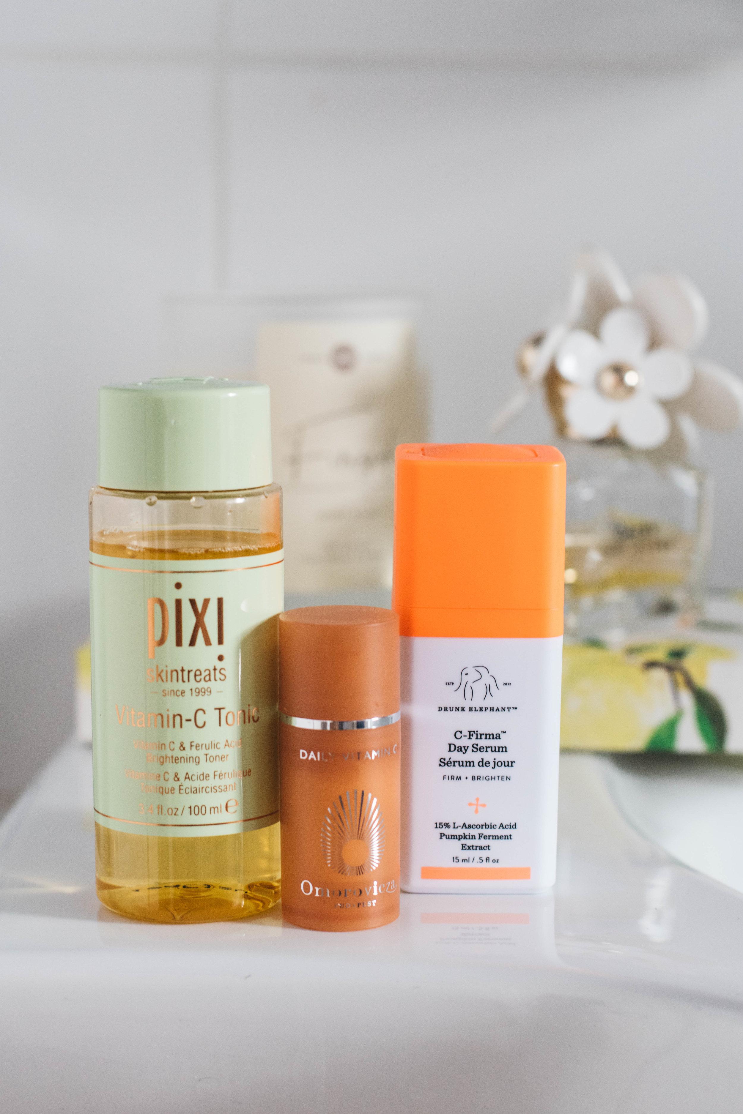 vitamin C skincare guide, life of ellie grace manchester beauty blog