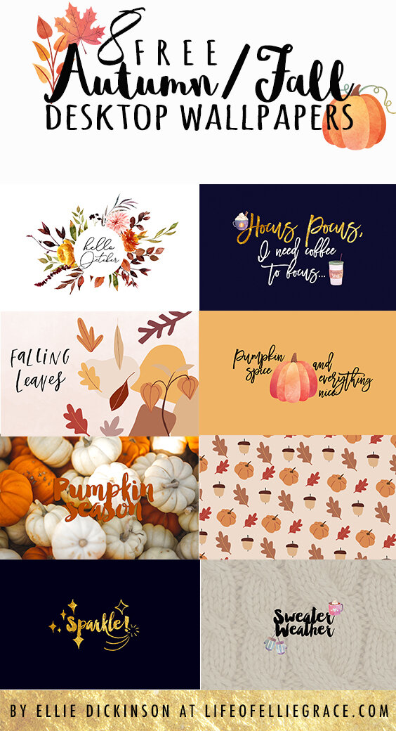 free autumn fall wallpapers pinterest