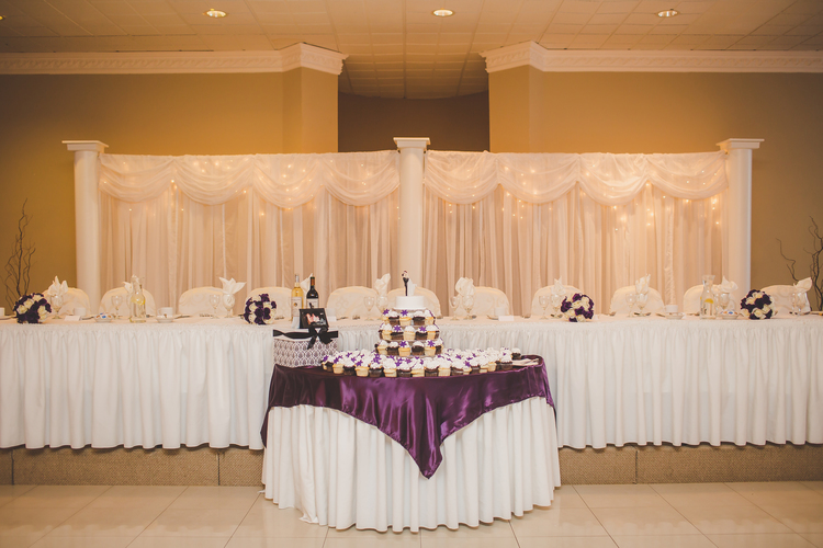Cake Table and Head Table