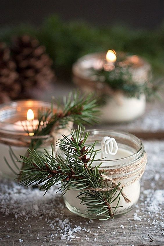 Image from Brit + Co: http://www.brit.co/diy-winter-wedding-favors/
