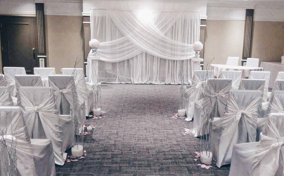 Ceremony Decor | Evelyn's Decorating