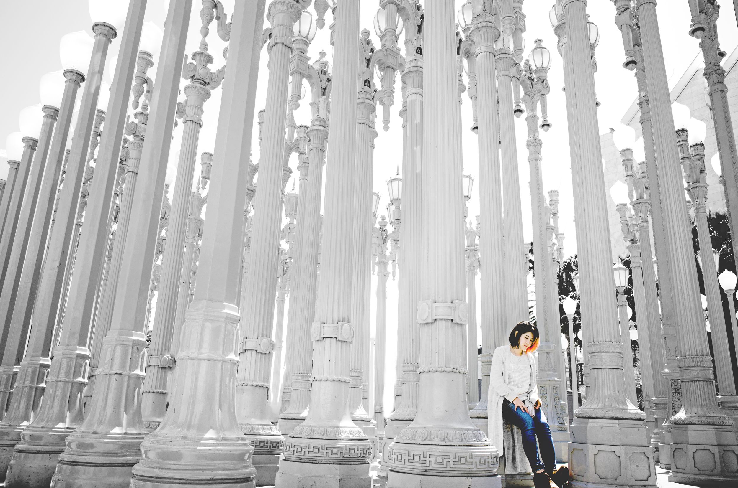 """""""Urban Lights"""" - Shot in Los Angeles County Museum of Arts"""