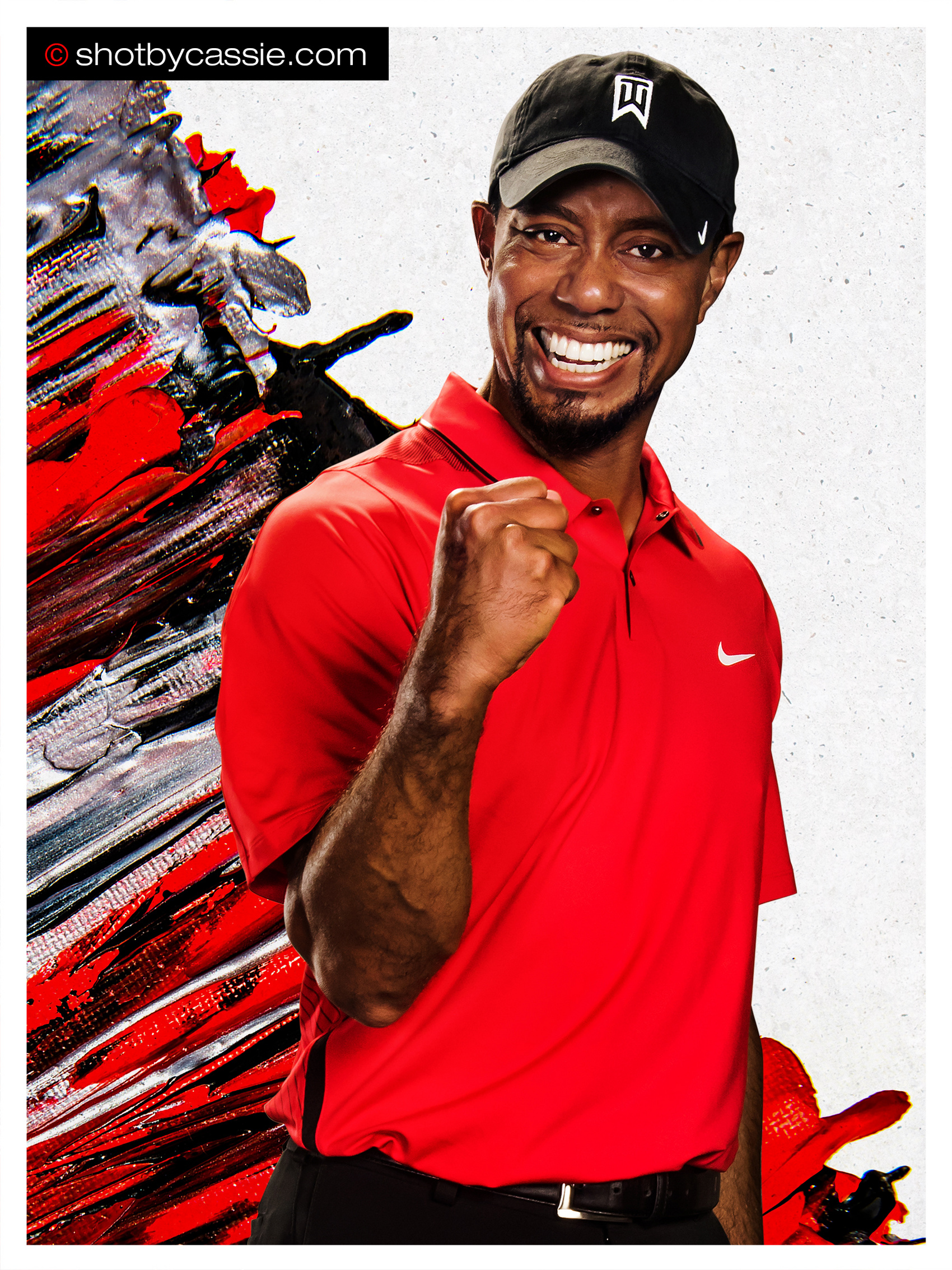 Atlanta Sports Photographer  Tiger Woods & PGA Stars for Bridgestone Golf