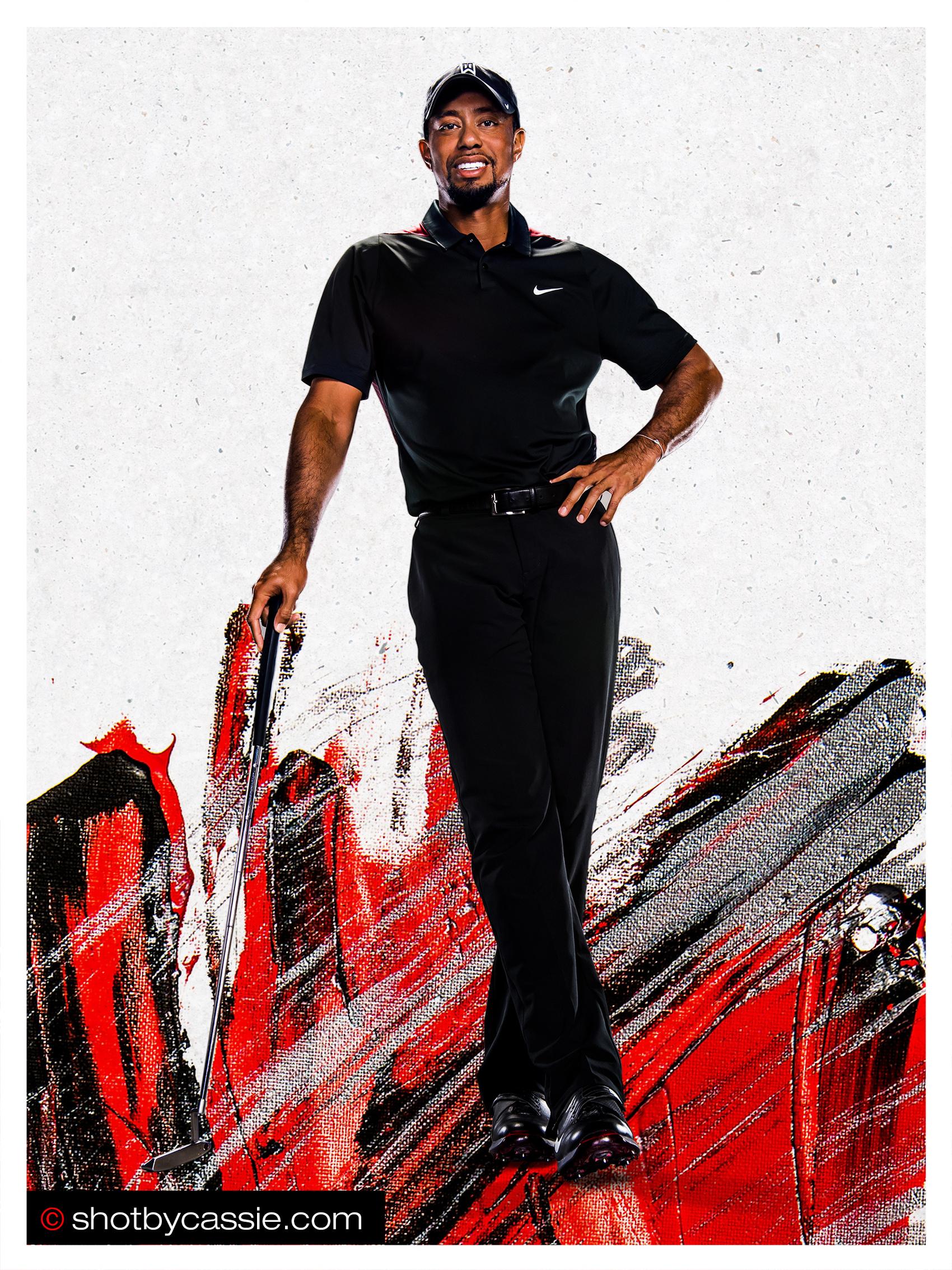 Tiger Woods For Bridgestone Golf