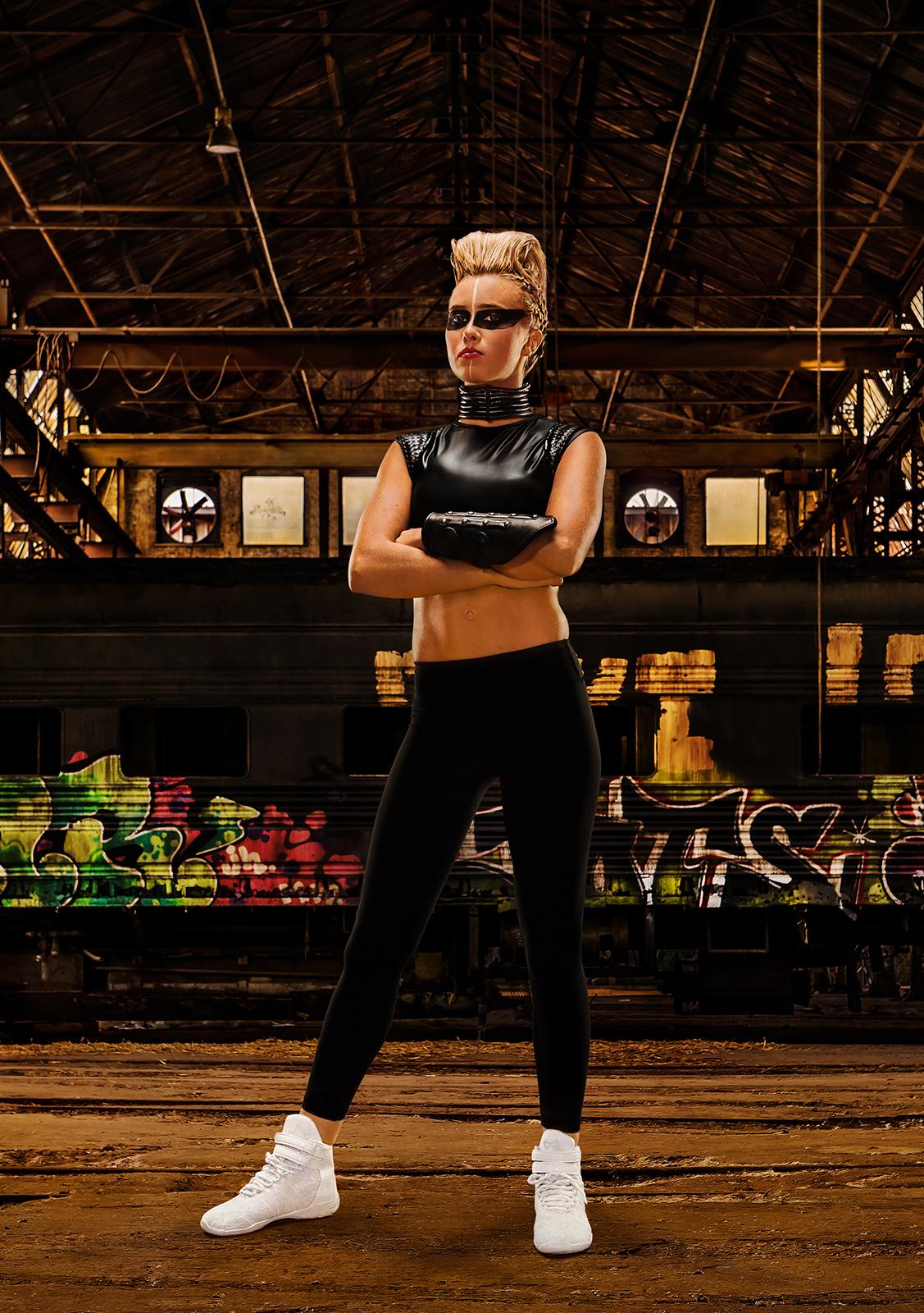 Atlanta Sports Photographer  Nfinity Titan Cheer Shoe Campaign