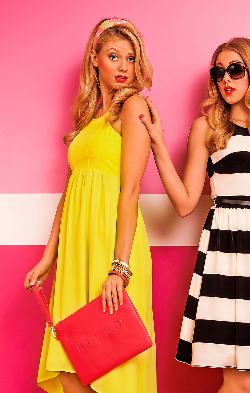 """Atlanta Fashion Photographer  Red Dress Boutique """"Colorfully Yours"""" Look Book"""