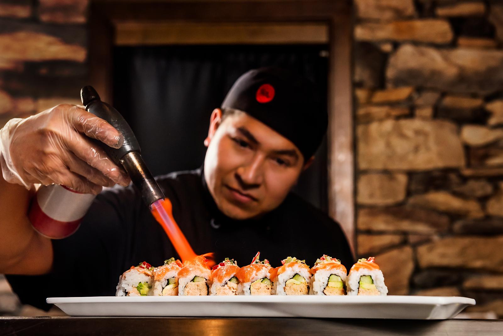 Atlanta Restaurant Photographer  Ra Sushi for Chemistry Ad Agency