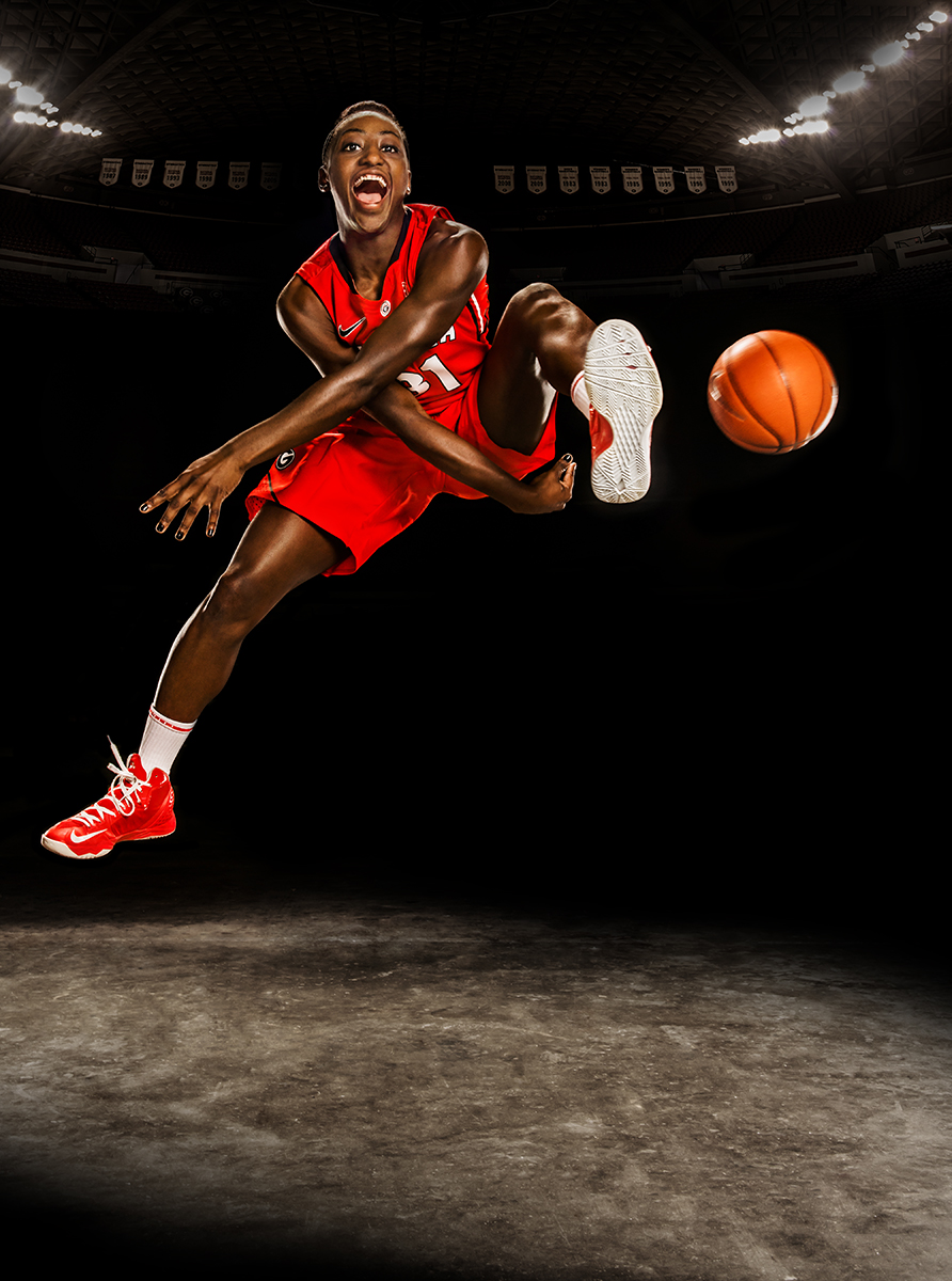Athens Georgia Sports Photographer  UGA Lady Bulldogs Basketball