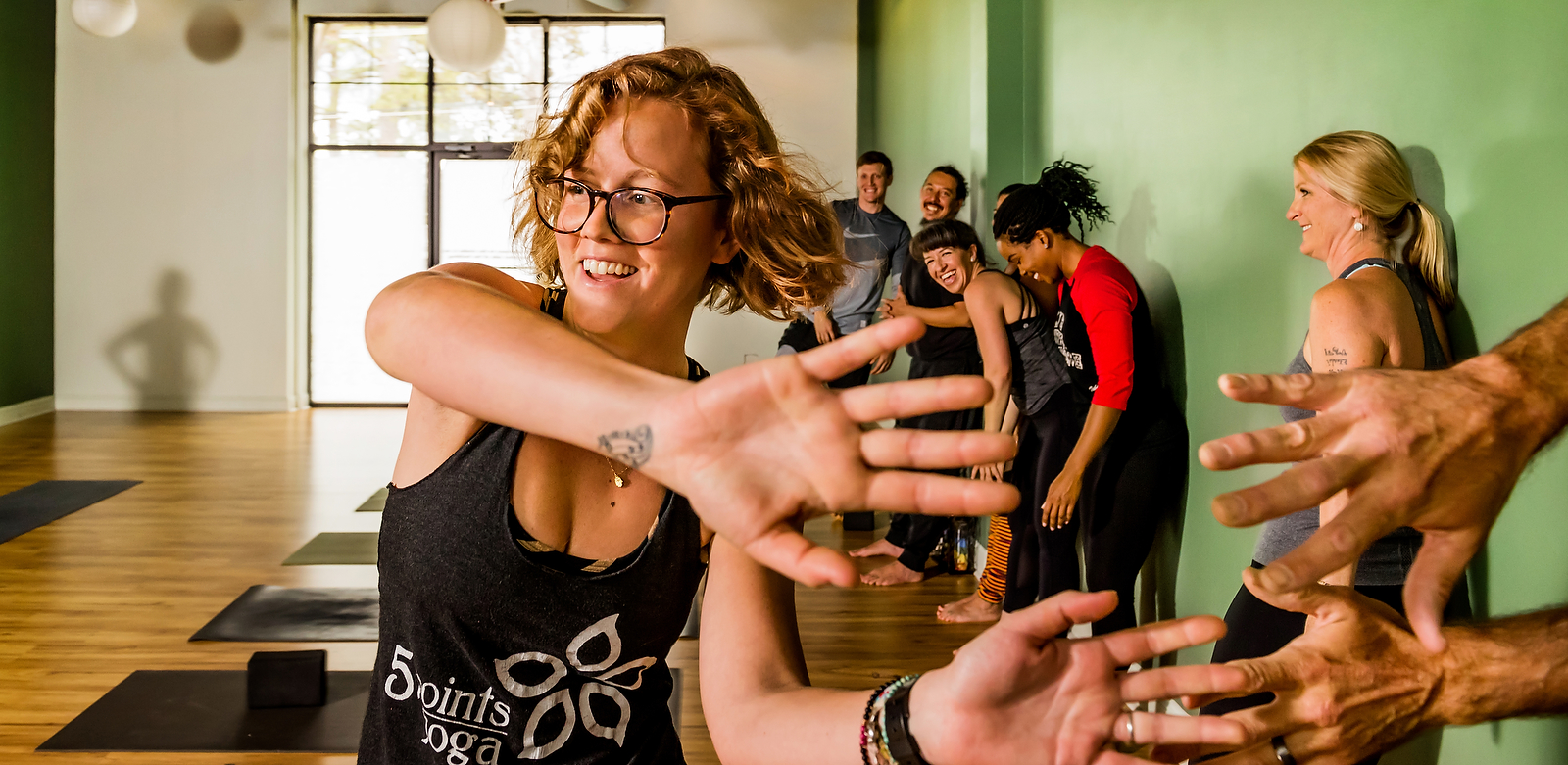 Athens Lifestyle Photographer  Five Points Yoga