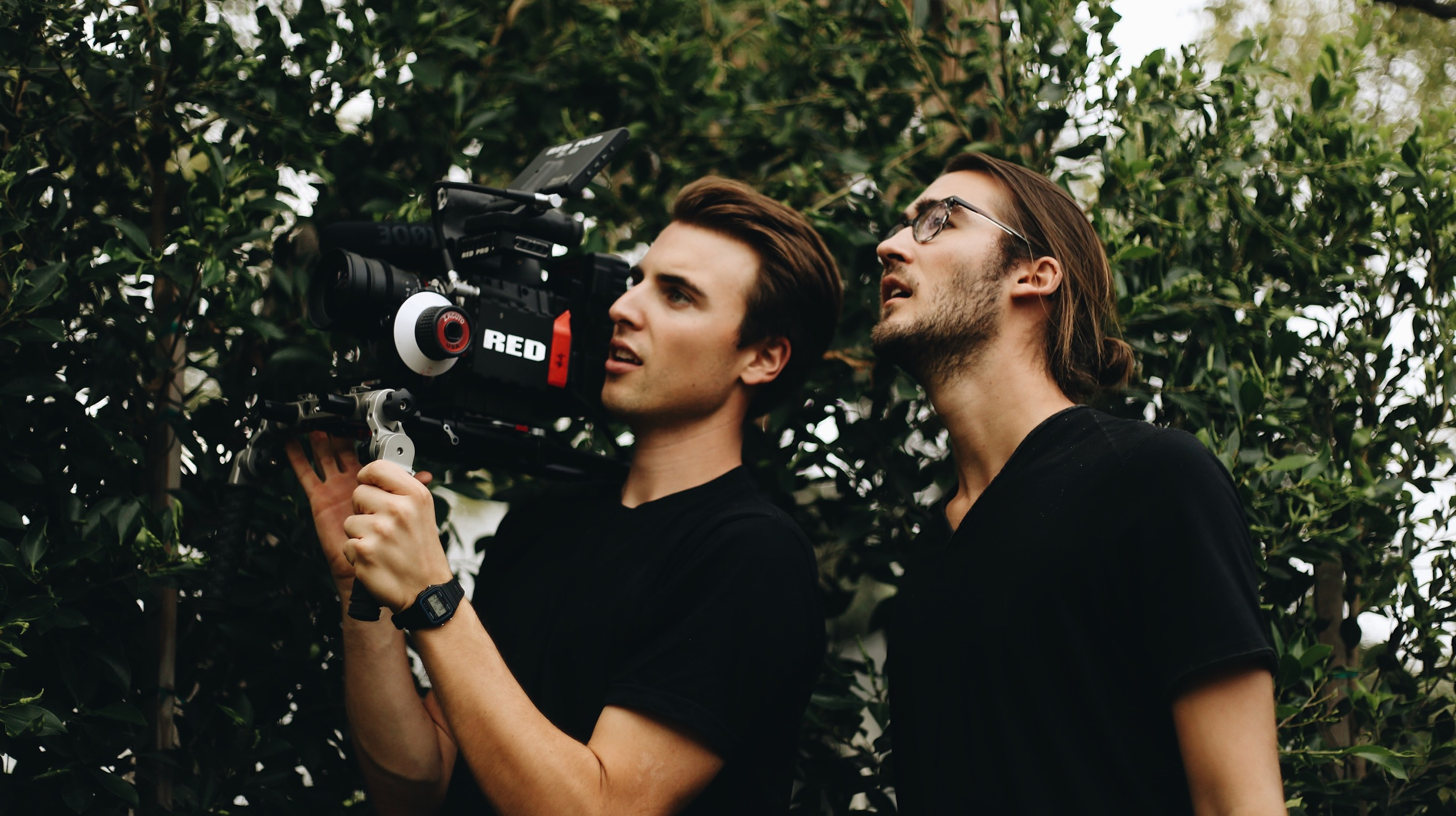 Will Anderson and David Gwynn, co-founders of Woodwalk behind-the-scenes.
