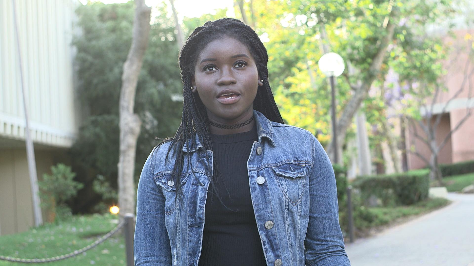 black female college student mtv los angeles