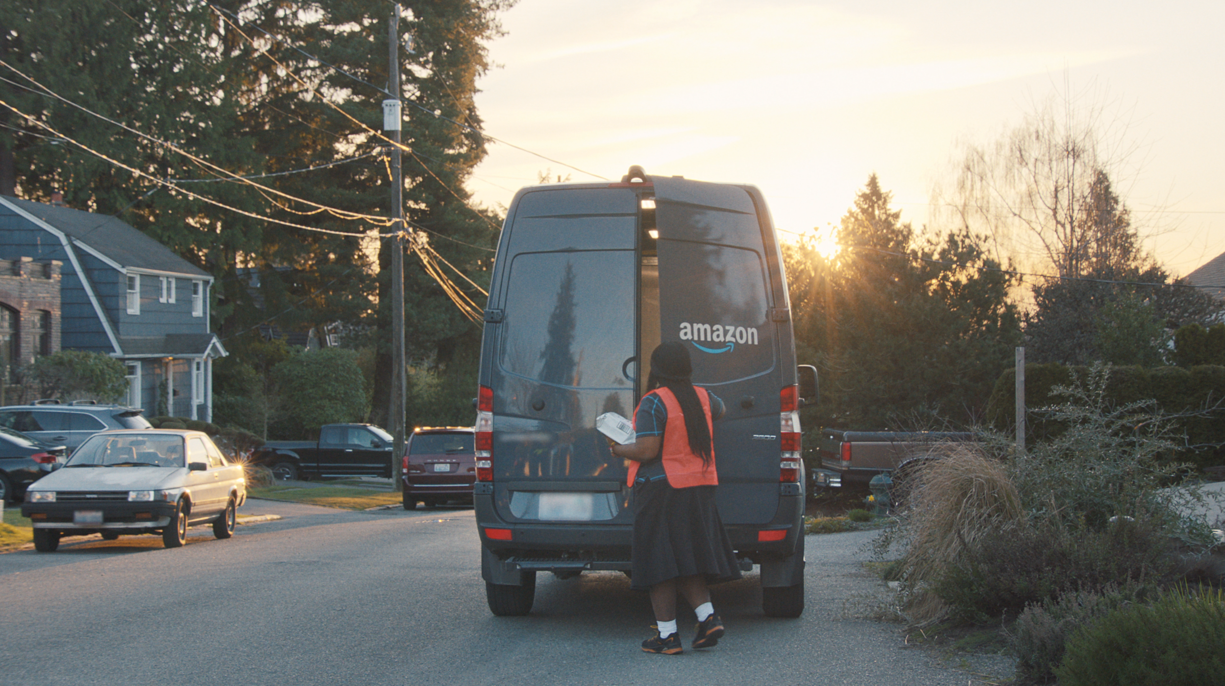 Amazon key van delivery commercial Woodwalk