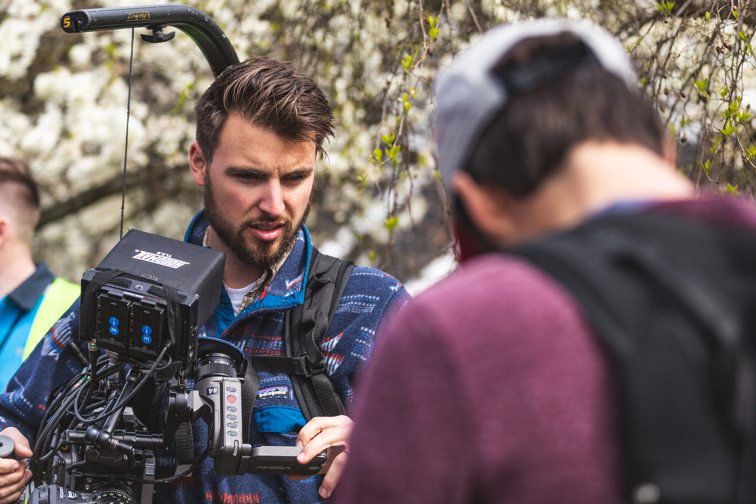 Woodwalk Will Anderson-Beck camera operating Amazon commercial Seattle