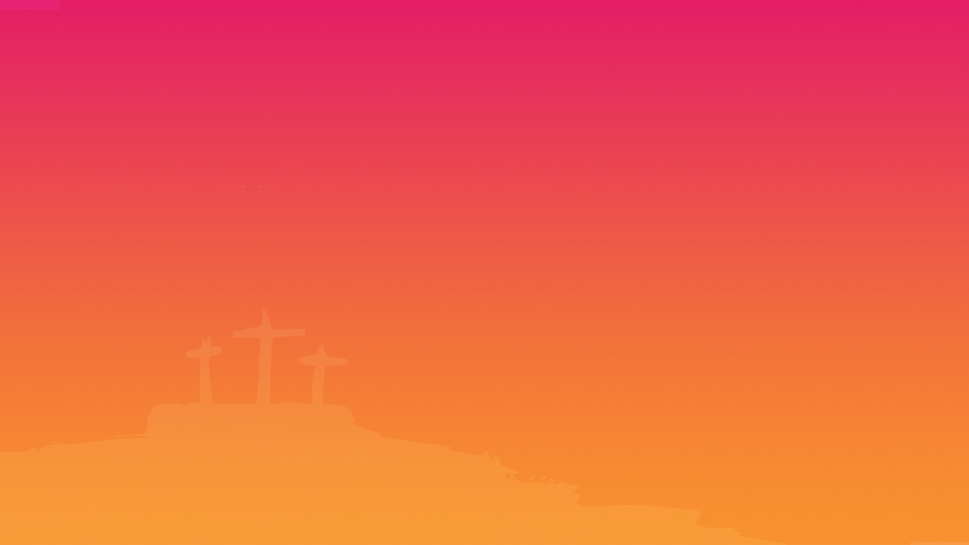 Gradient color w/ cross