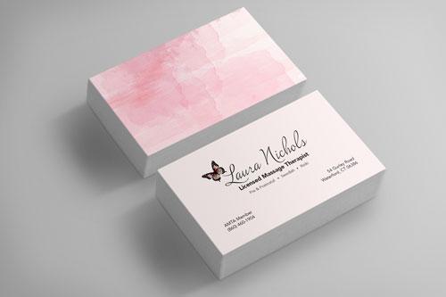 Laura Nichols Business Cards