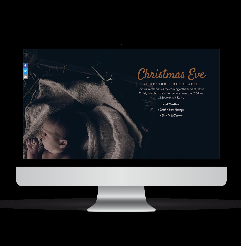 GBC - Christmas Eve Event Page