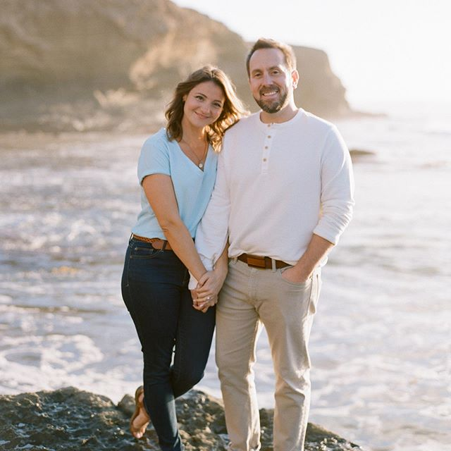 #TBT to when we got engaged! 🤪 ❤️ @lifesabeach16 • • 📷 by @lanedittoe • • • • • • • #engagementphotos #engagementrings #gettinhitched #garbagebeach #perfectportraits #engaged #engagementshoot #engagementphotoshoot #engagementphoto #sandiegoengagement #sunsetcliffs #portraitvision #portrait_mood #sickhenleybro #henleyshirt #filmphotography #filmcamera