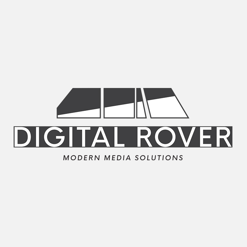 Brand and brand guide desgined for Digital Rover, a full service digital agency that drives your business, brand, and product to reach its maximum influence.