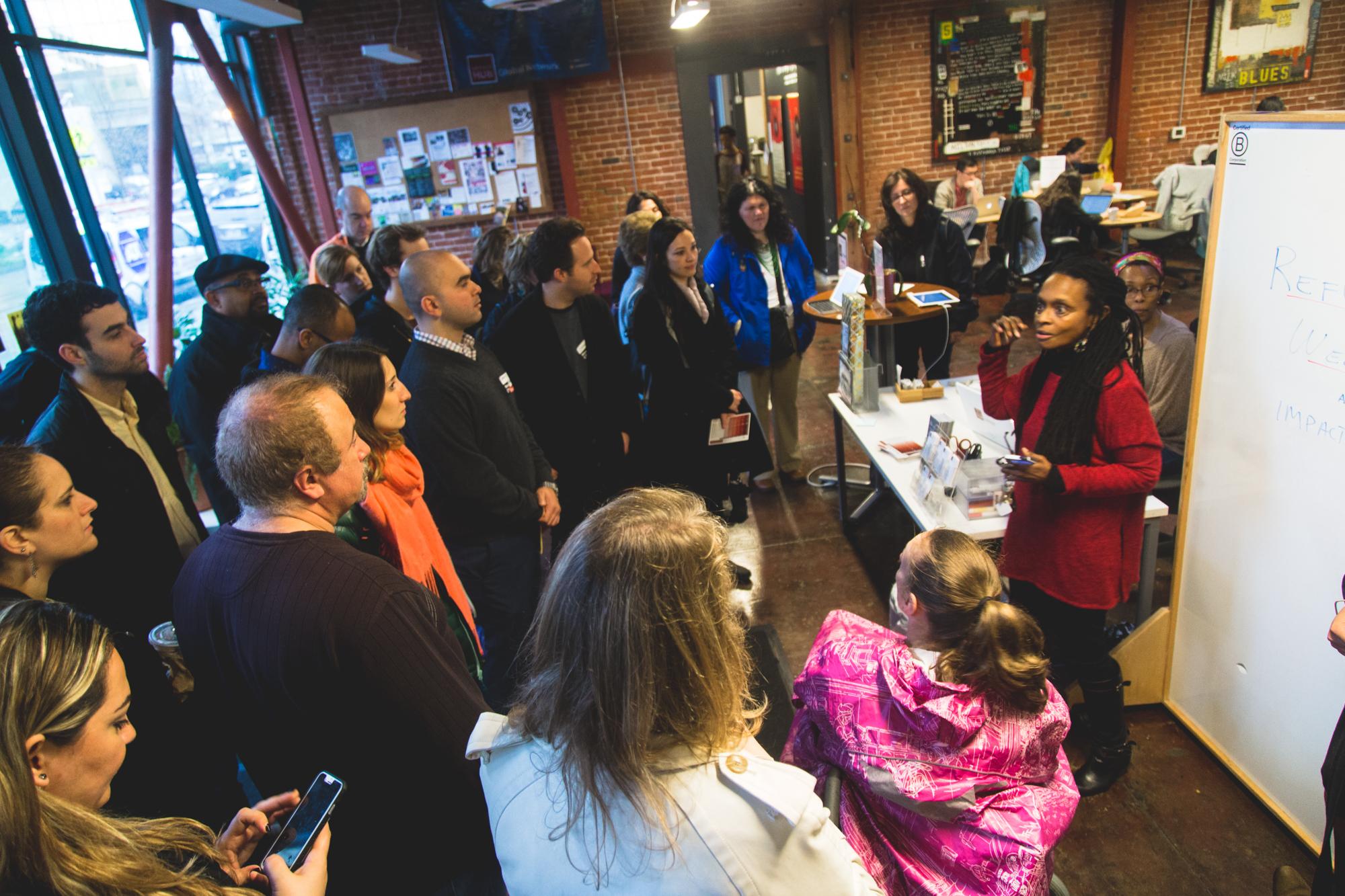 Konda Mason, co-founder of Impact HUB Oakland shares the HUB's story.