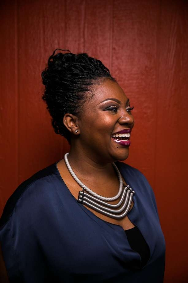 Reign Free, Founder and CEO of the  Red Door Catering . Photos by Mason Trinica, courtesy of the San Francisco Chronicle.