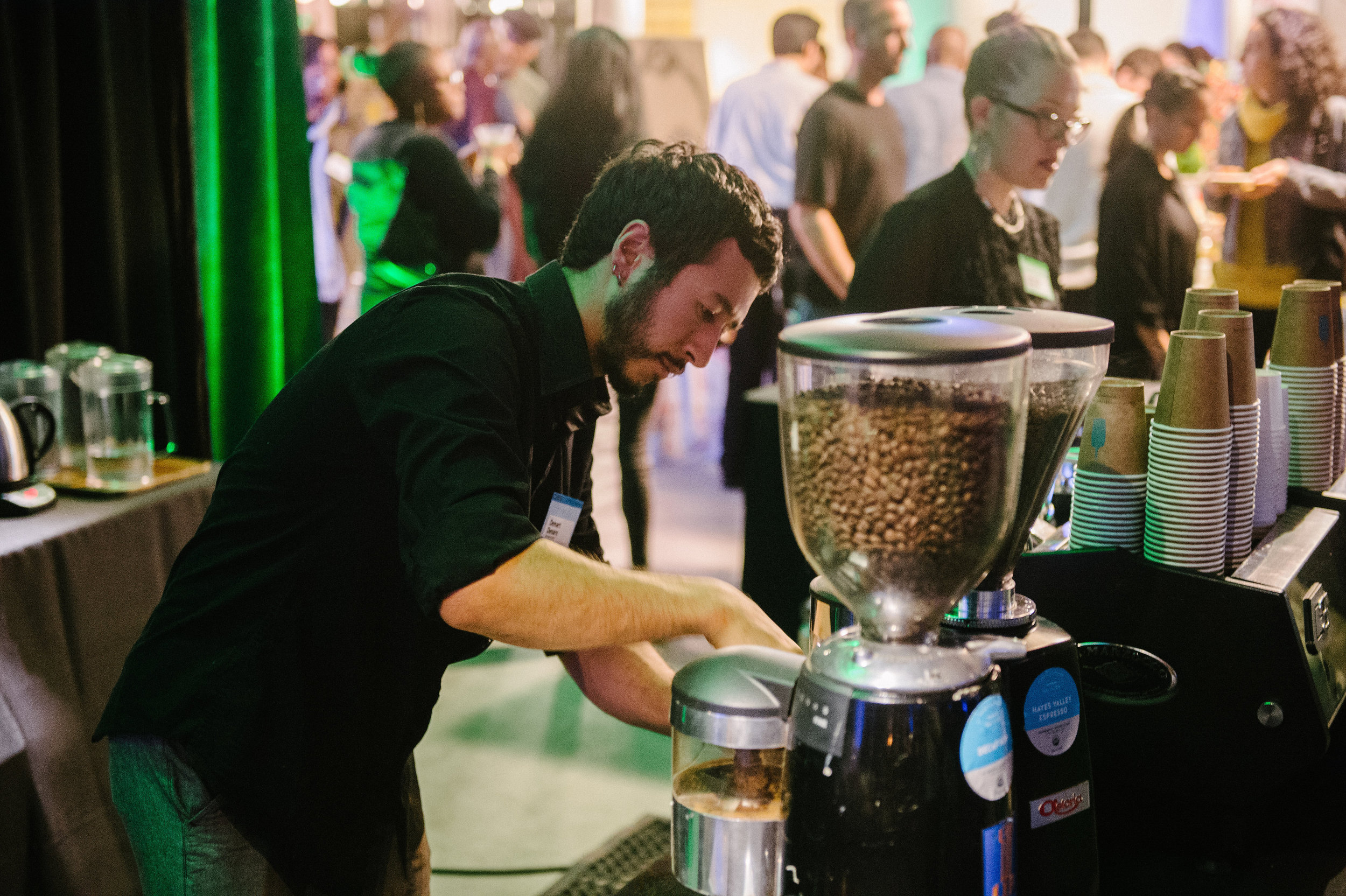 Blue Bottle Coffee at our 2014 ICA LIVE event.