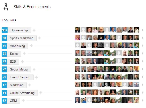 LinkedIn Endorsement Sample